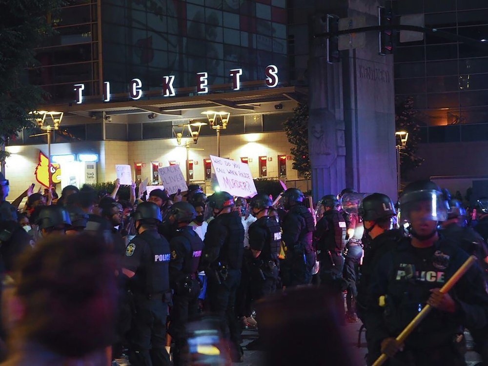 7 shot at Louisville protest over fatal police shooting of Breonna Taylor