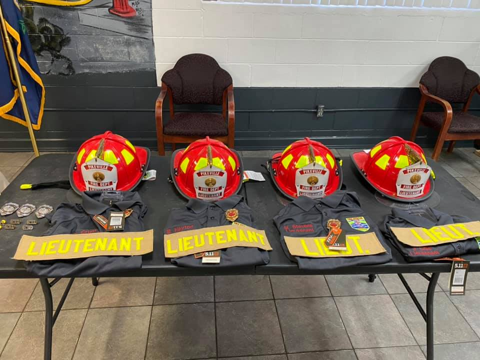 Pikeville Fire Dept. adds newly certified firefighters/EMT, appoints new Lieutenants