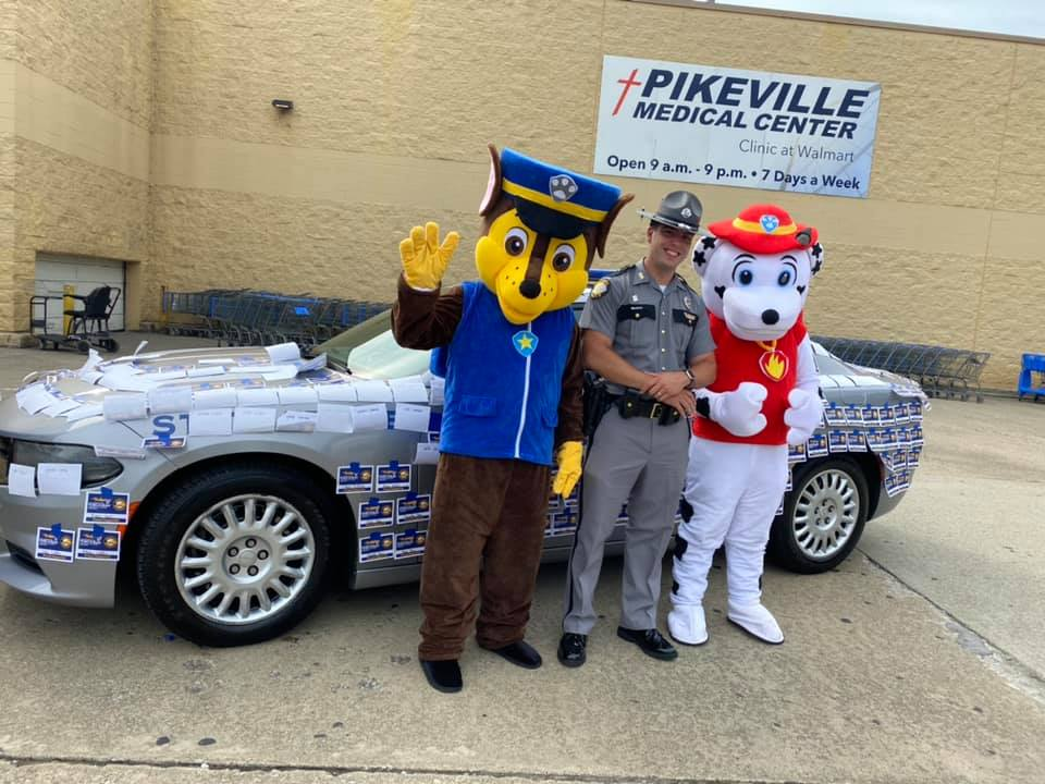 Kentucky State Police hold fundraiser for Special Olympics