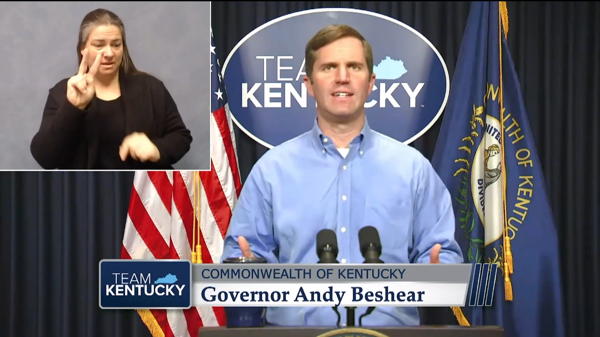 Beshear asks Kentuckians to sacrifice 'one New Year's Eve'