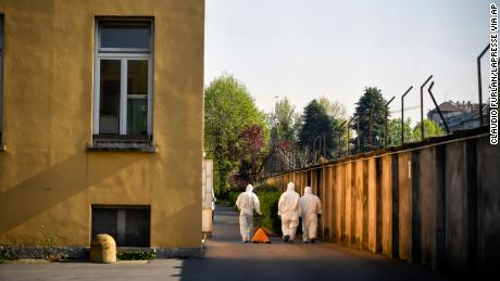 Police investigation into Italian care homes finds coronavirus violations