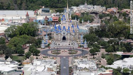 Disney CEO explains why it's safe to go back to Disney World