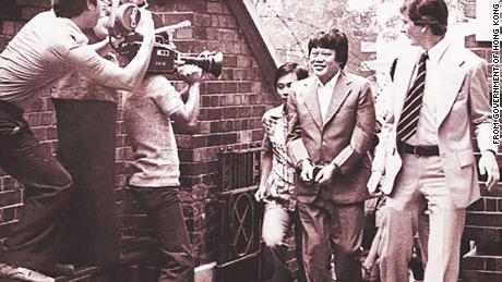 Major drug trafficker Ma Sik-chun was arrested by the police in 1970s.