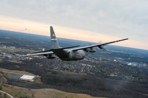 Air National Guard will fly over Pikeville in tribute to healthcare workers on Friday