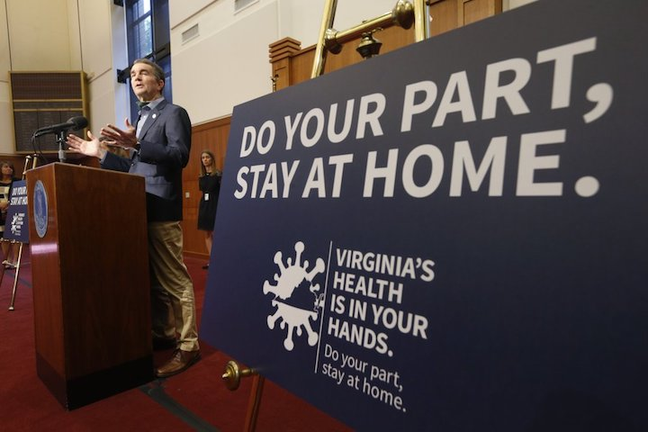 Virginia gov says next phase of reopening at least a week away