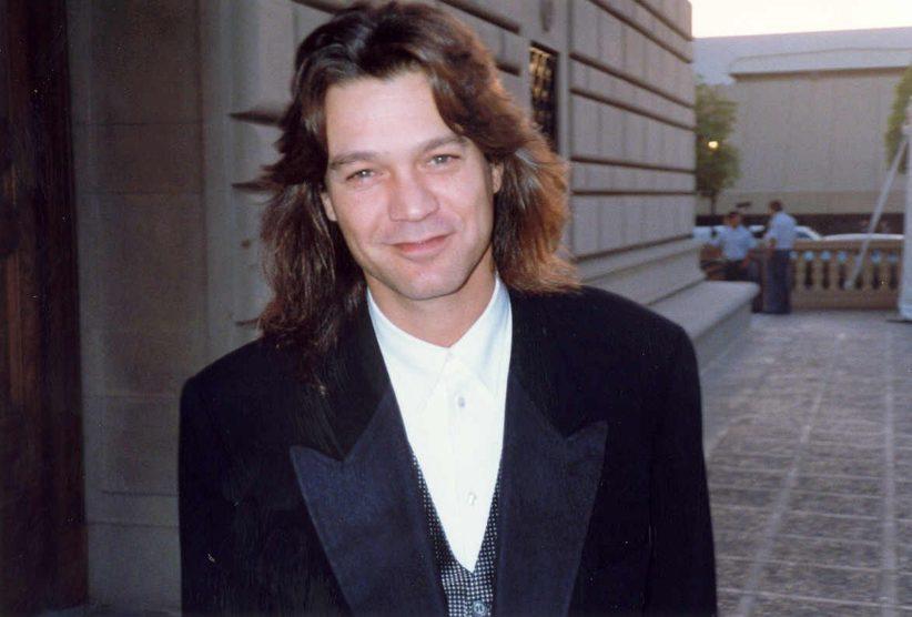 Eddie Van Halen, photo by Alan Light