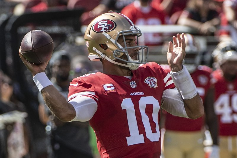 49ers' Jimmy Garoppolo, Trent Williams have chance to play Sunday vs. Cardinals