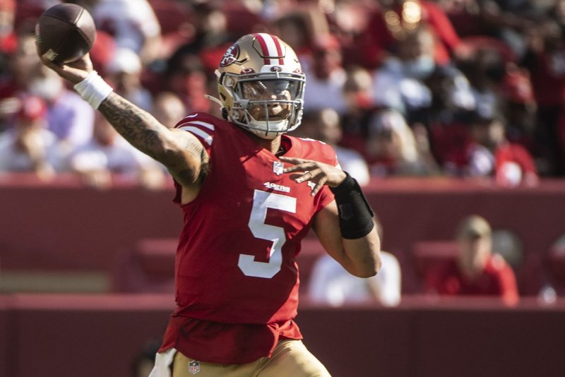 49ers rookie Trey Lance to start in place of injured QB Jimmy Garoppolo vs. Cardinals