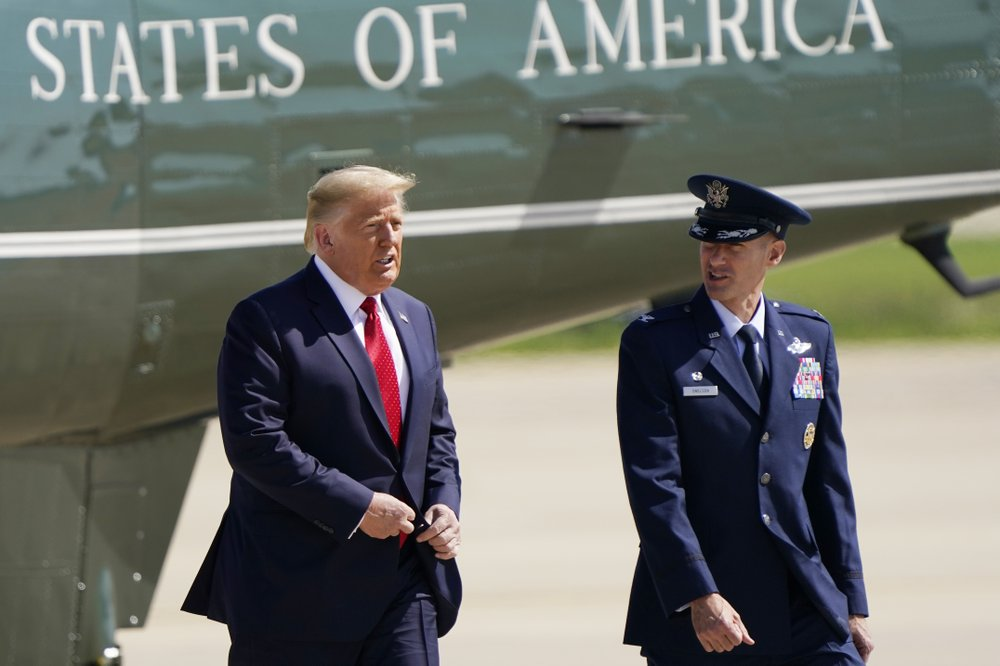 Trump on the road as Biden prepares for convention show