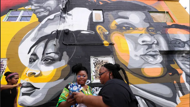 Louisville mural remembers Breonna Taylor, others
