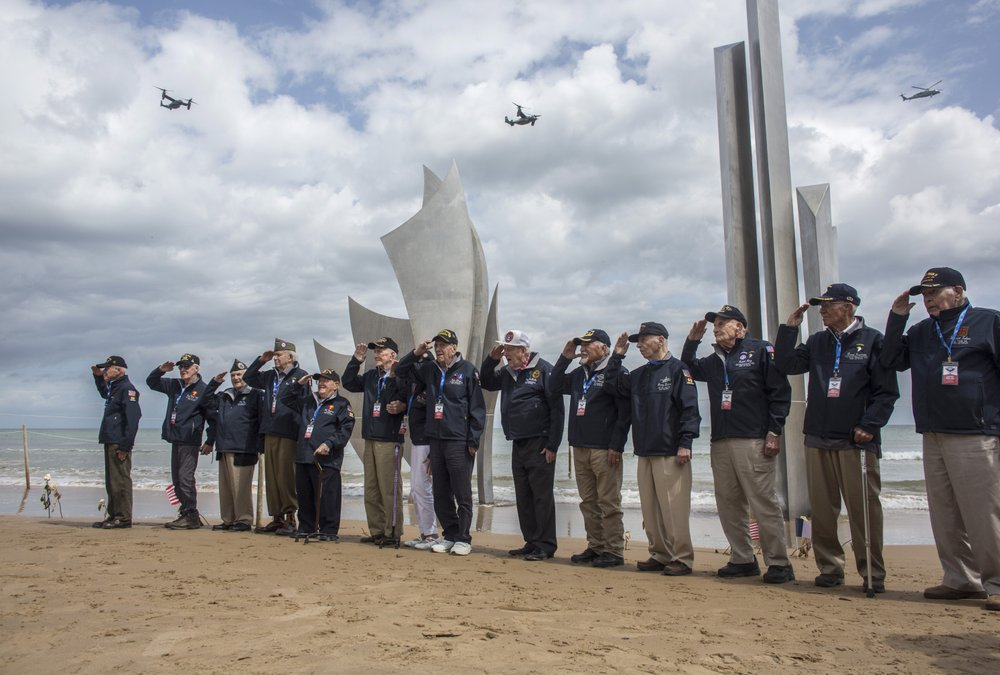 On sad anniversary, few to mourn the D-Day dead in Normandy