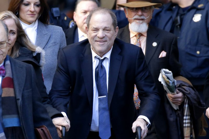 Harvey Weinstein pleads not guilty to amended LA indictment