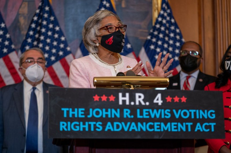 House Democrats pass John Lewis Voting Rights Act