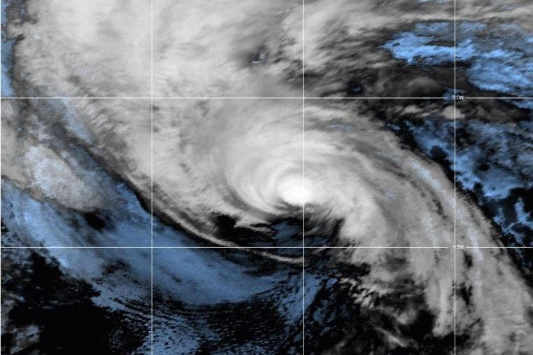 Hurricane Sam expected to transition to post-tropical cyclone Monday night