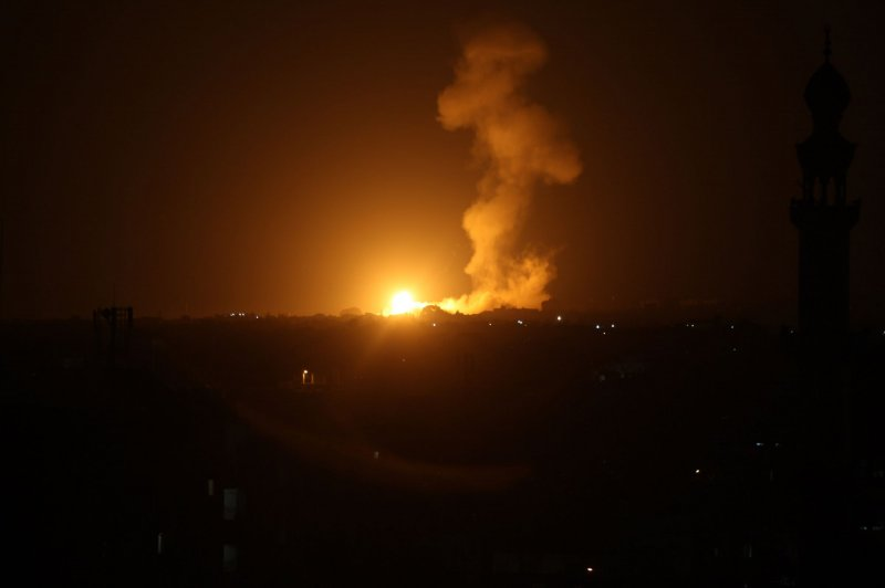Israel hits Hamas targets in Gaza; HRW accuses it of conducting 'unlawful acts'