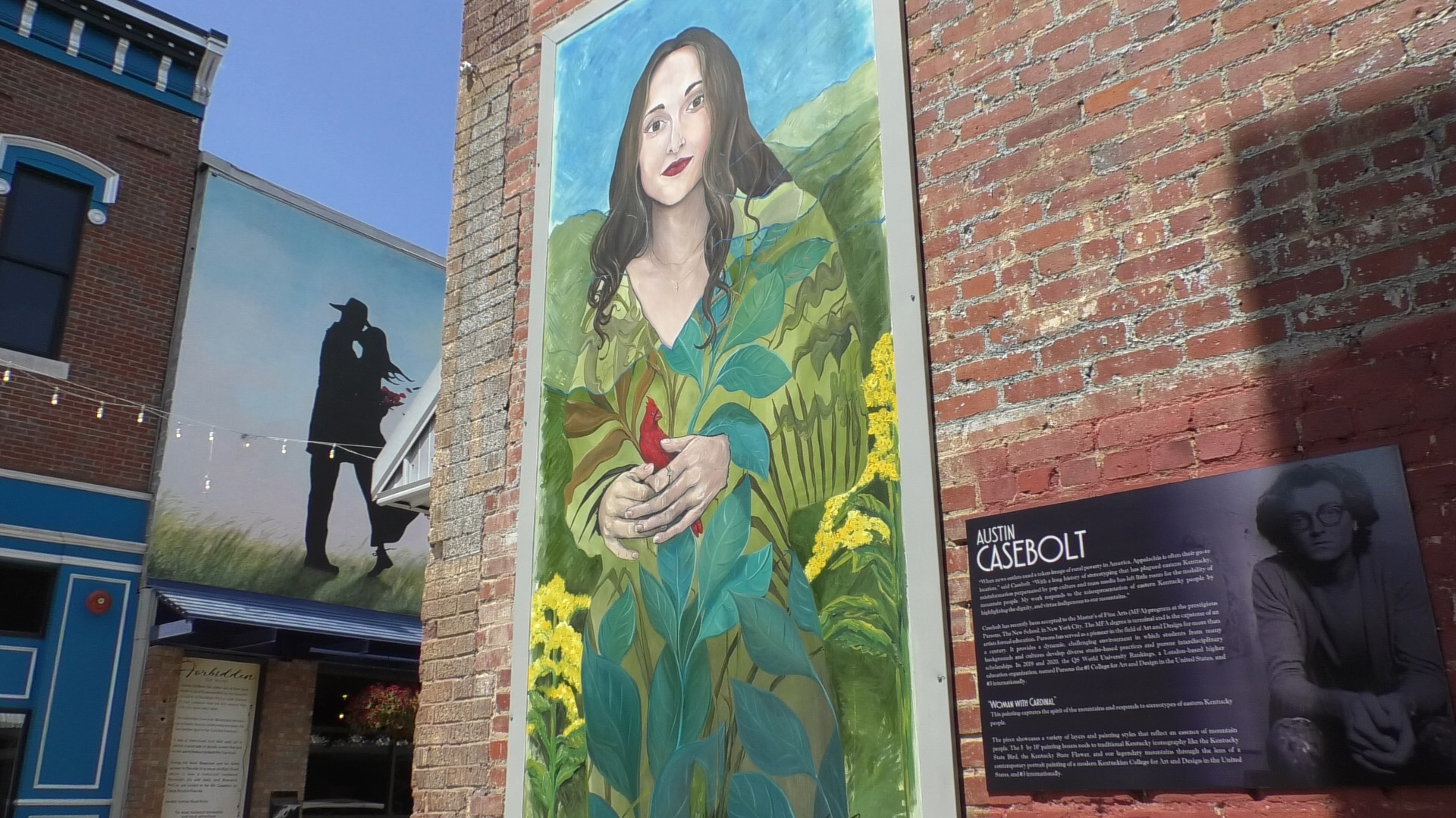 Appalachian culture art piece unveiled in Downtown Pikeville