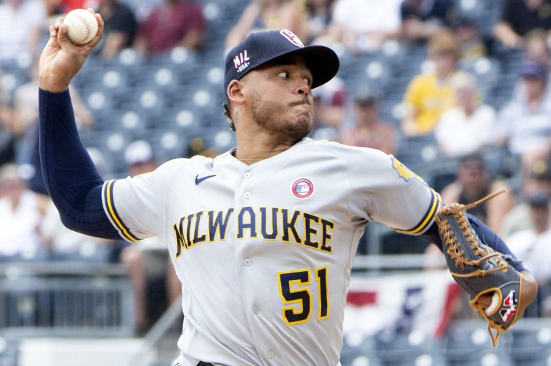Milwaukee Brewers' Freddy Peralta put on 10-day IL due to shoulder issue
