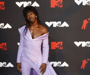 In photos: Moments from the 2021 MTV VMA red carpet