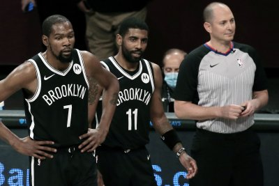 Nets GM Sean Marks: Kyrie Irving won't practice, play until fully eligible