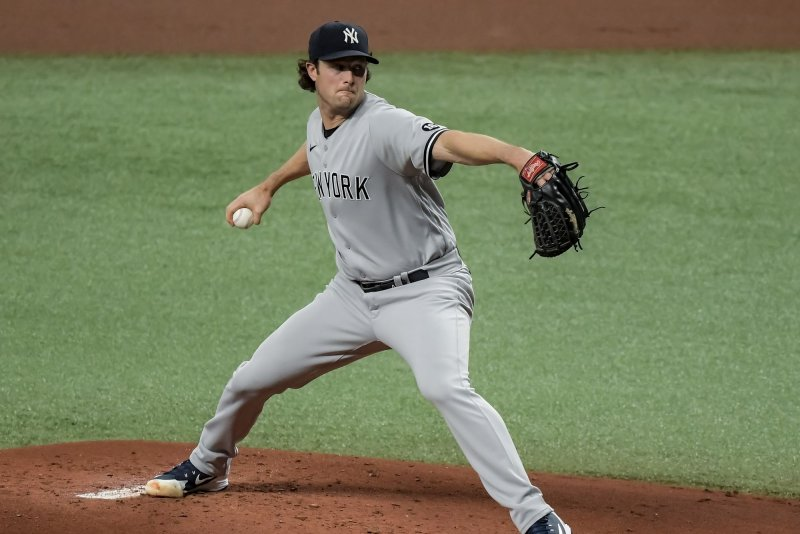 New York Yankees' Gerrit Cole exits start due to hamstring tightness