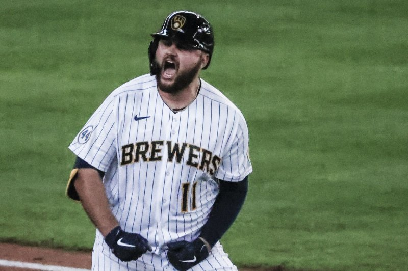 Rowdy Tellez, Corbin Burnes guide Brewers past Braves in Game 1 of NLDS