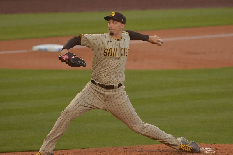 San Diego Padres place LHP Blake Snell on injured list
