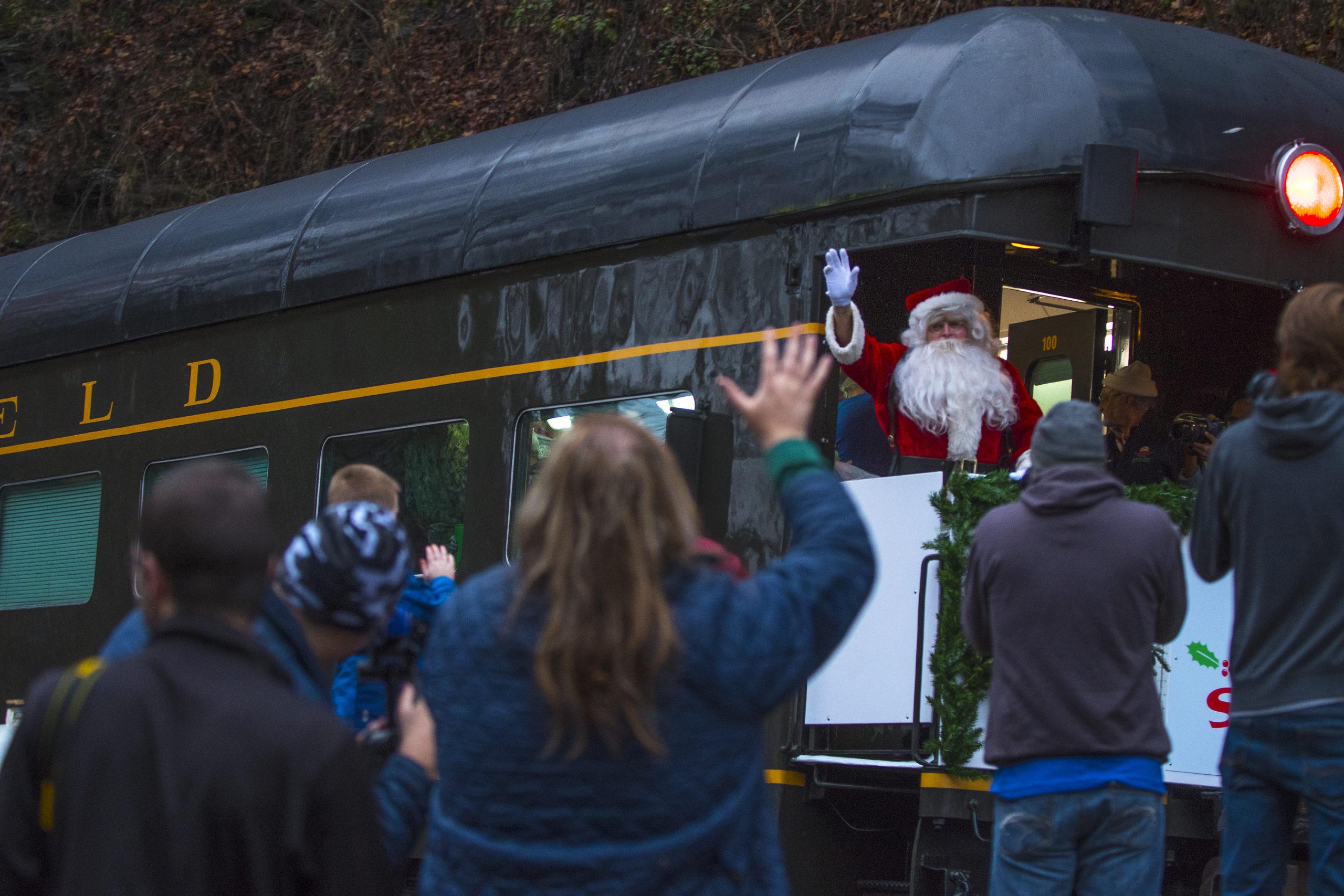 Santa Train will not run in 2020, alternative gift distribution planned