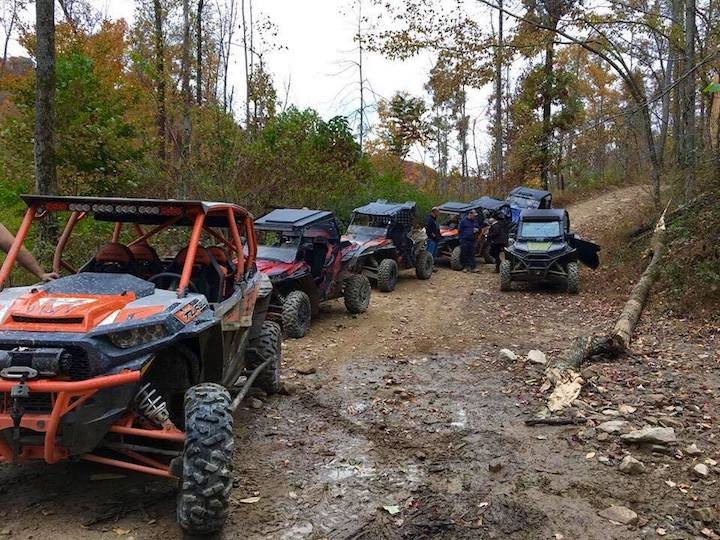 Riders flock to reopened West Virginia ATV trails system