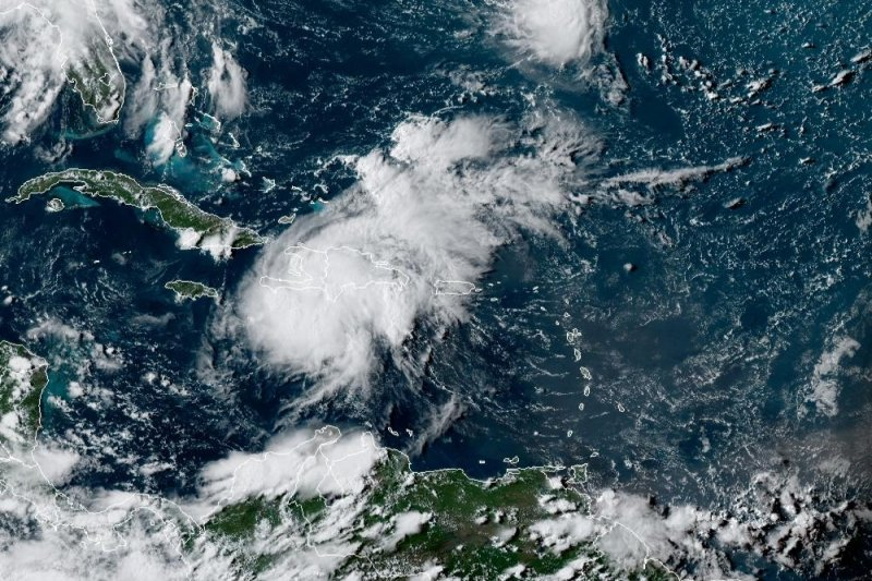 Tropical Depression Grace expected to strengthen over Caribbean Sea