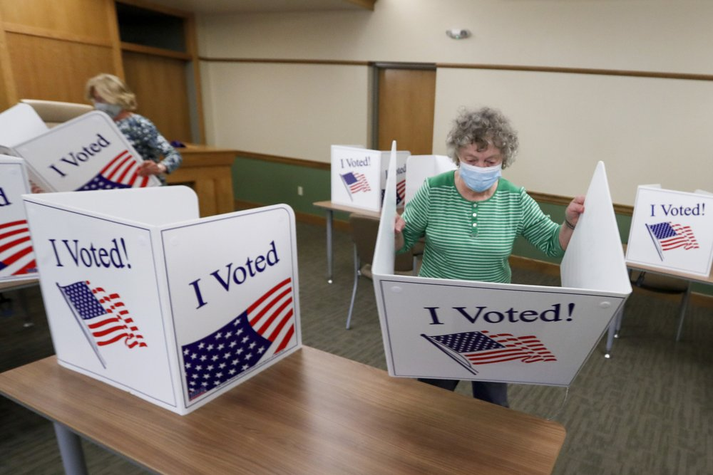 Kentucky offers portal to apply as election poll worker