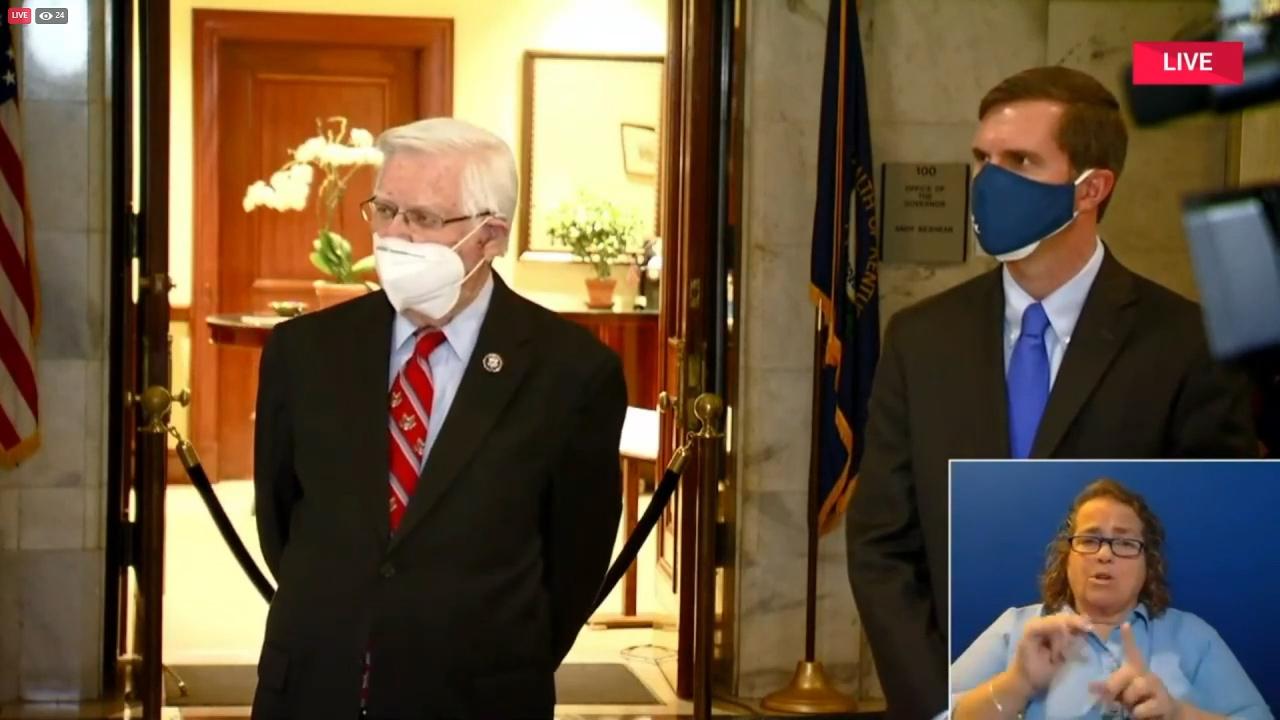 Beshear, Rogers announce $14.2 million in AML grants for Eastern Kentucky