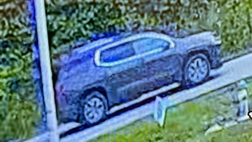 The suspect or suspects are believed to have fled in this vehicle.