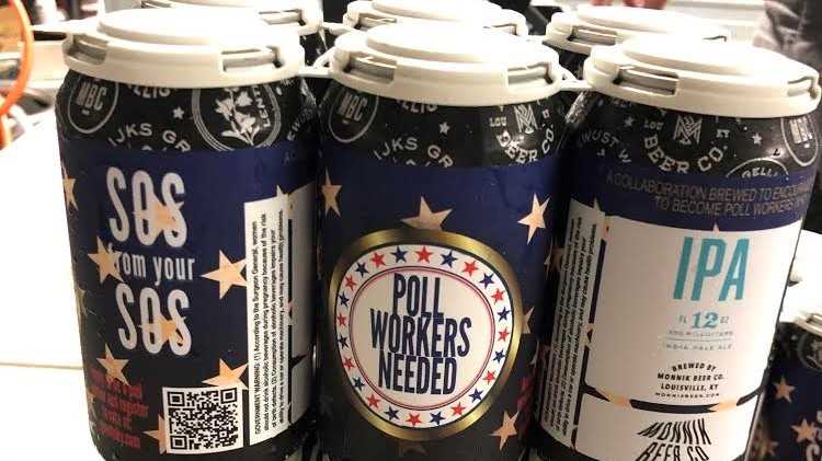 Kentucky takes unique approach to brewing up poll workers