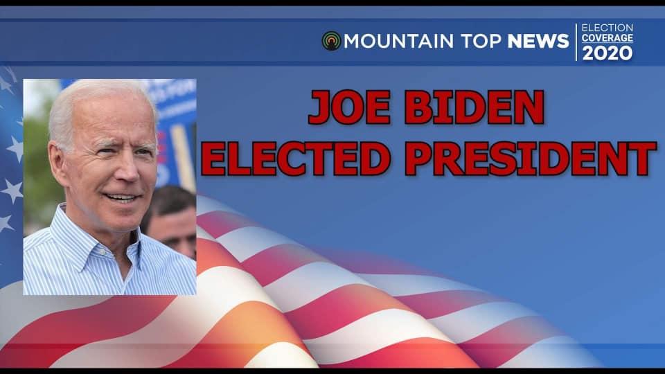 Biden elected president
