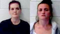 Lynashley Coleman and Katerina Pratt