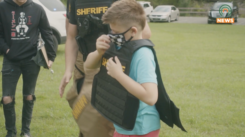 Sheriff, David School team up for camp