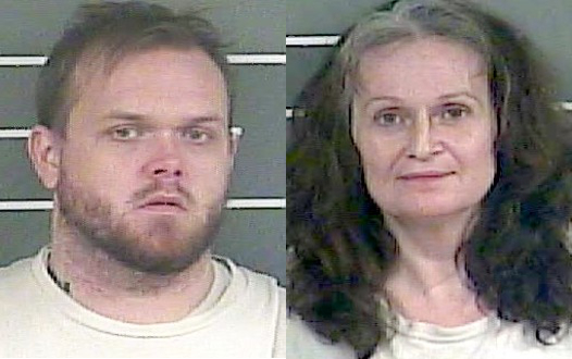 Christopher Cole and Angela Vanover