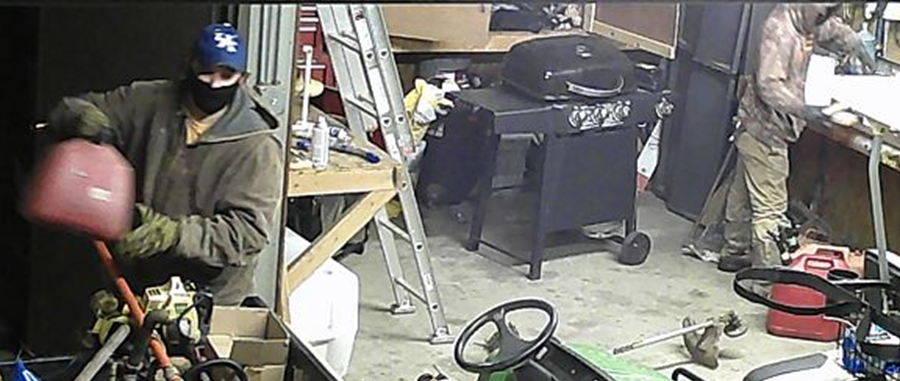 Two men sought after Carr Creek State Park burglary