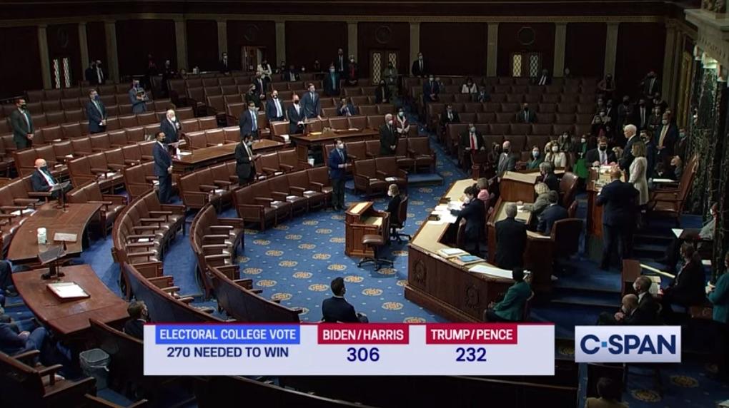 Congress certifies Biden's presidential win