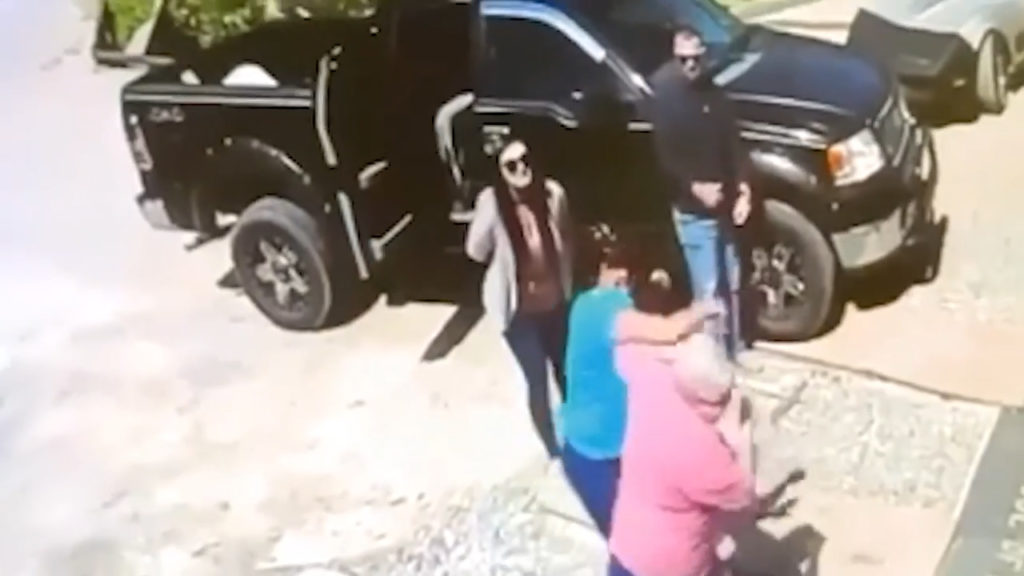 The incident which prompted the charges was captured on video.