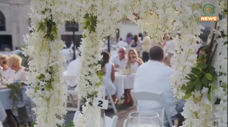 Dinner in White returns in a big way