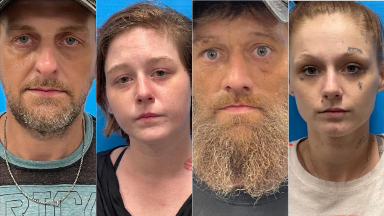 4 arrested after Logan County drug raid