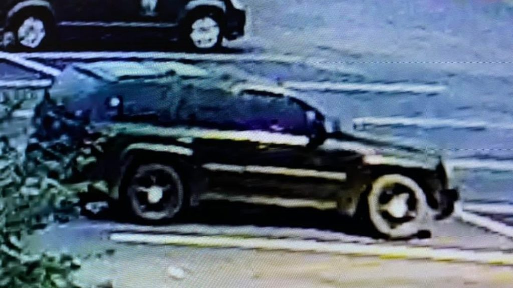 Police believe Matthew McMahan walked out of the hospital and fled in this vehicle.