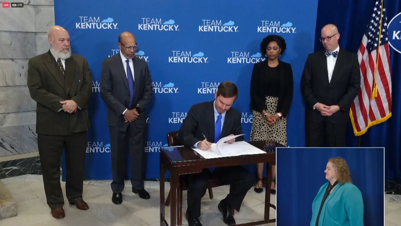 In final coronavirus briefing, Beshear ends most COVID restrictions