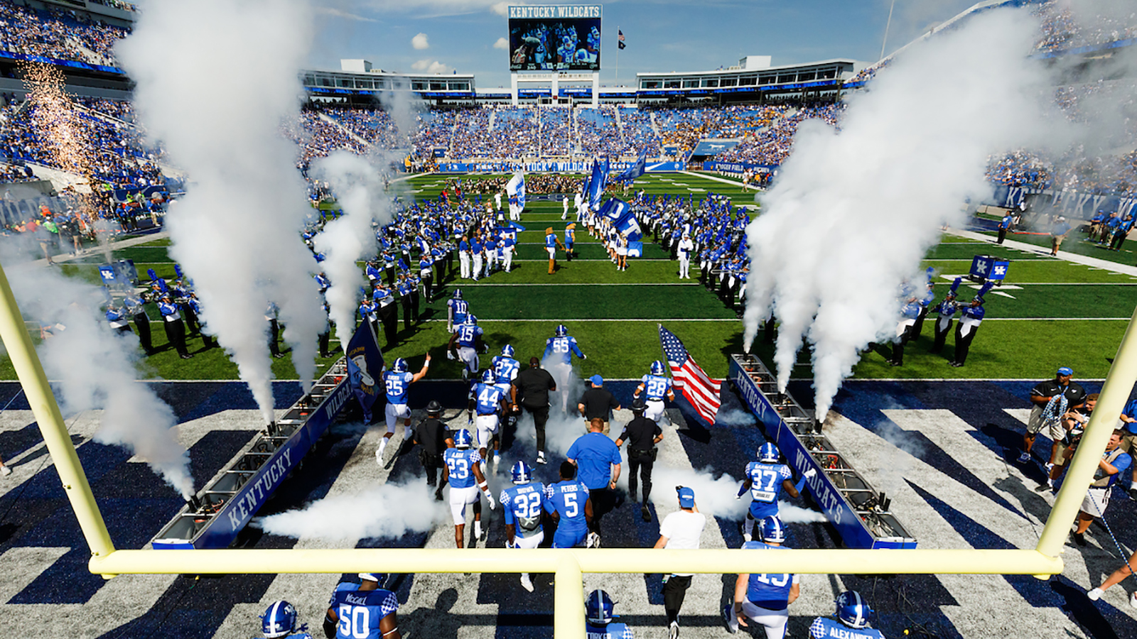 COLLEGE FOOTBALL: UK's revised 2020 schedule released