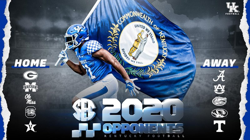 COLLEGE FOOTBALL: UK schedule now set for 2020