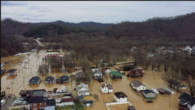 Counties ask property owners to report flood damage