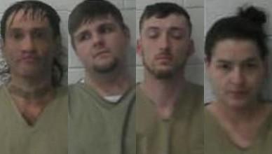 4 arrested on drug charges after traffic stop