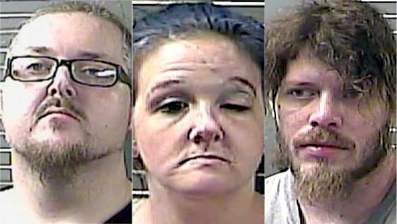 Three charged with importing heroin