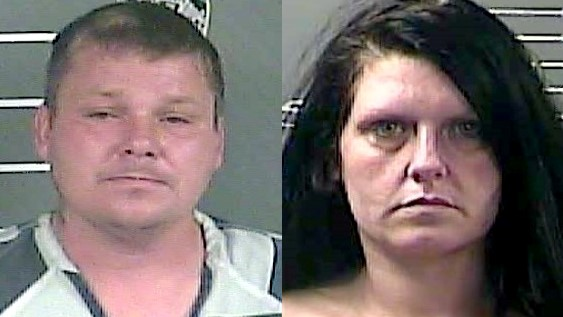 Couple arrested after running from police for more than an hour